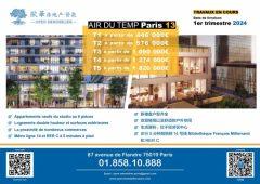 Appartement Neuf Paris 13 T1 au T5